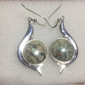 Copper agate 925 Jay King mine finds Earrings NWT
